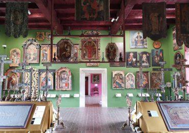 Turystyka: Zamek w Sanoku -  zbiór ikon
