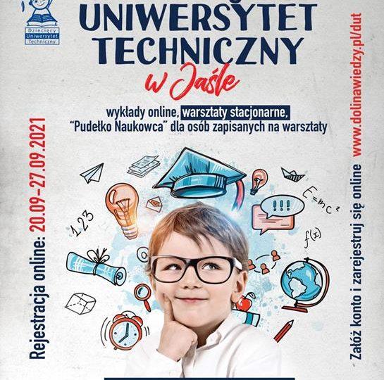 Jasło: Rusza rekrutacja na semestr zimowy DUT - zajęcia online i stacjonarne w małych grupach