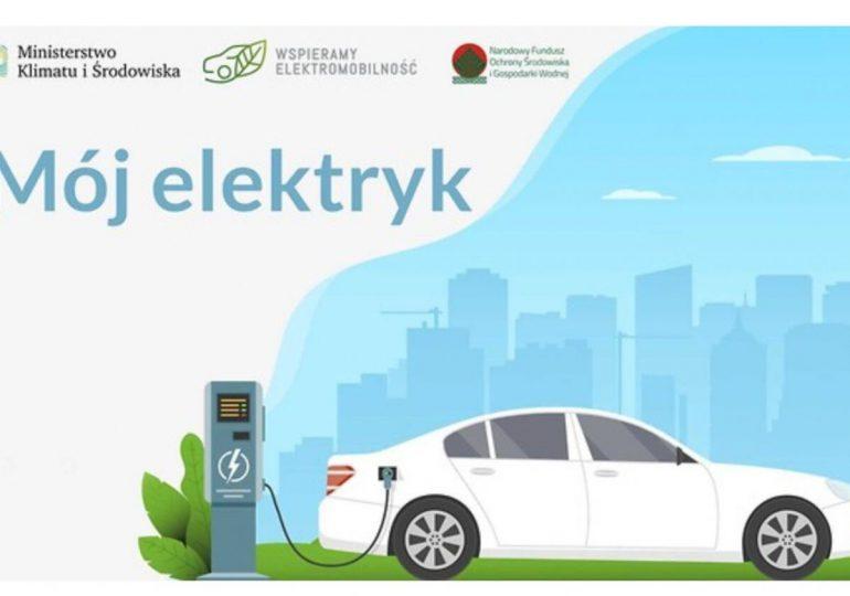 """Biznes: Program """"Mój Elektryk """"Ponad 18 tys. zł dopłaty na zakup auta."""