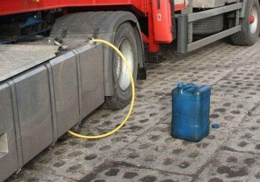 Nisko: Mężczyzna ukradł z budowy ponad 500 litrów paliwa