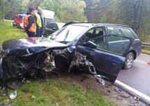 Lubaczów: Zderzenie czterech samochodów w Narolu