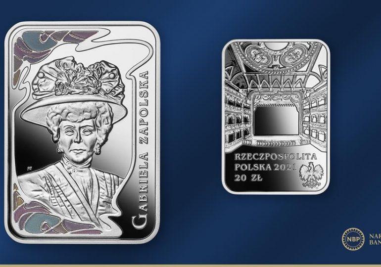Biznes: Wielkie aktorki – Gabriela Zapolska na srebrnej monecie NBP